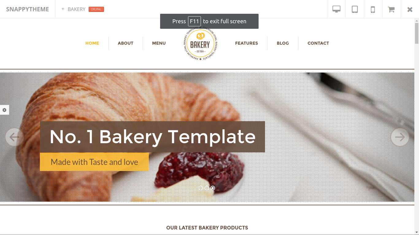 10+ Best Free And Premium Drupal 7/8 Themes/Templates