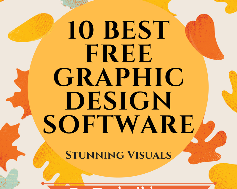10 Best Free Graphic Design Software for Beginners 2021