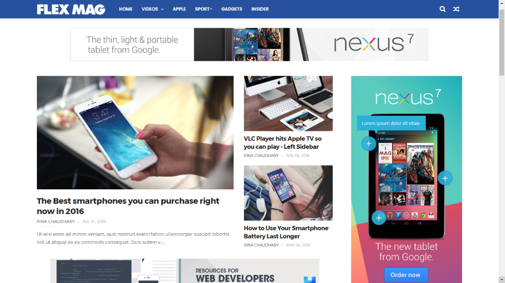 15 Best Free Magazine Blogger Templates for 2020