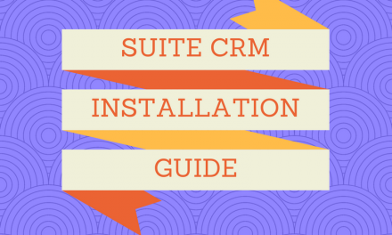 SuiteCRM Installation Guide: How to install SuiteCRM on server