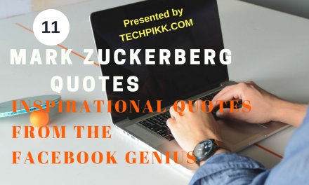 Mark Zuckerberg Quotes: Inspirational Quotes from the Facebook Genius!