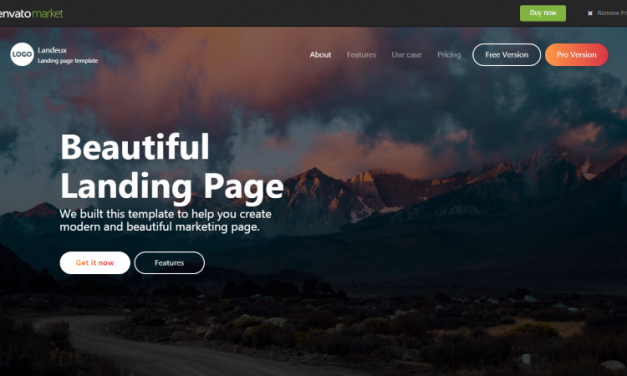 HTML Landing Page Templates: Bootstrap, Responsive & Best !