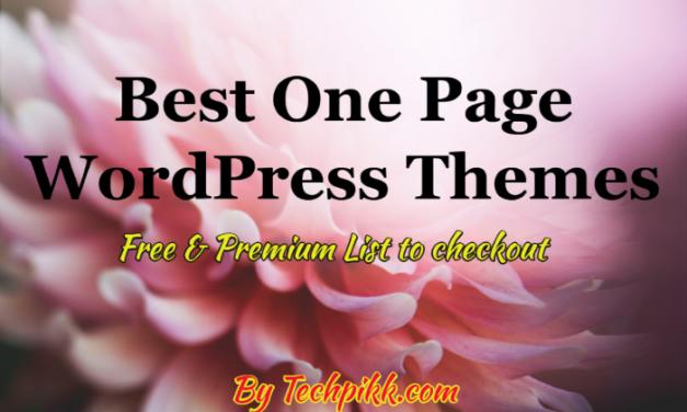 10 Best One Page WordPress Themes: Free & Premium List 2021